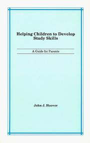 Cover of: Helping Children to Develop Study Skills: A Guide for Parents