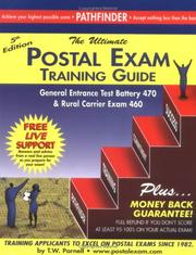 Cover of: Postal Exam 460 Training Guide