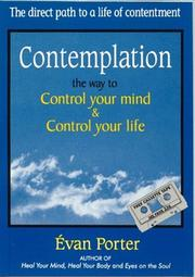 Cover of: Contemplation - The Way to Control Your Mind & Control Your Life