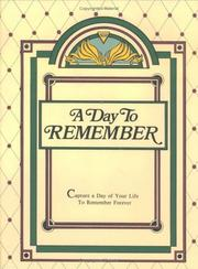 Cover of: A Day to Remember
