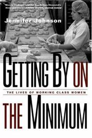 Cover of: Getting By on the Minimum