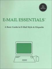 Cover of: E-Mail Essentials