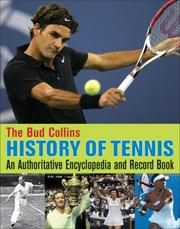 Cover of: The Bud Collins History of Tennis