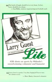 Cover of: Larry Guest Lite