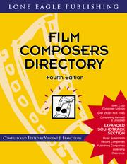 Cover of: Film Composers Guide 1997-1998 | Vincent Francillion-Jacquet