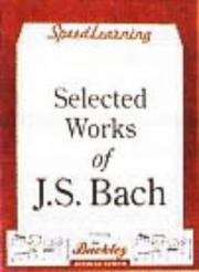 Cover of: Selected Works of Js Bach