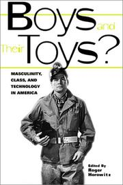 Cover of: Boys and their Toys