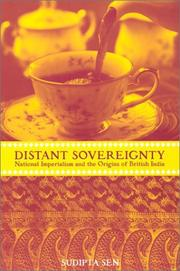 Cover of: A Distant Sovereignty | Sudipta Sen