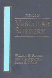 Cover of: Trends in Vascular Surgery | William Pearce