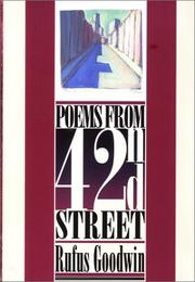 Cover of: Poems from 42nd Street
