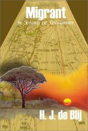 Cover of: Migrant: In Search of Geography