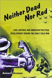 Cover of: Neither Dead Nor Red