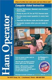 Cover of: Ham Operator Software Package