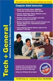Cover of: Technician + General Class (Books and Software Package)