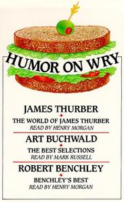 Cover of: Humor on Wry | James Thurber