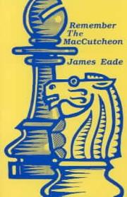 Remember the MacCutcheon by Eade