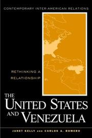 Cover of: United States and Venezuela