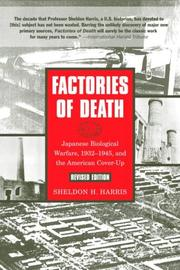 Cover of: Factories of Death | Sheldon Harris