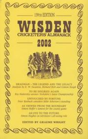 Cover of: Wisden Cricketers 2002 (Wisden)