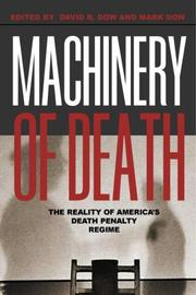 Cover of: Machinery of Death