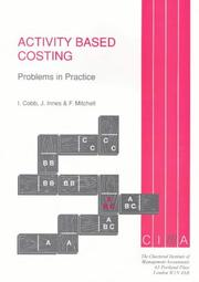 Activity-Based Costing by Ian Cobb, John Innes