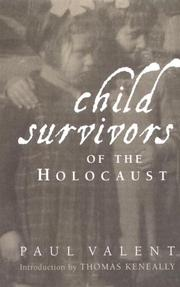 Cover of: Child Survivors of the Holocaust