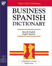 Cover of: Business Spanish Dictionary CD-ROM
