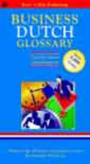 Cover of: Dutch Business Glossary (Business Glossaries)