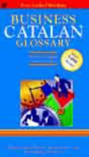 Cover of: Catalan Business Glossary (Business Glossaries)