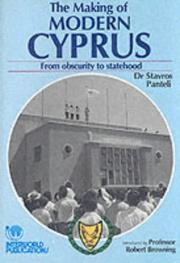 Cover of: The Making of Modern Cyprus