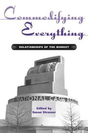 Cover of: Commodifying Everything | Susan Strasser