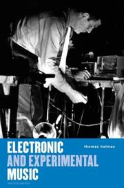 Electronic and experimental music by Thomas B. Holmes