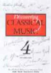 Cover of: Discovering Classical Music