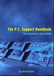 PC Support Handbook by David Dick