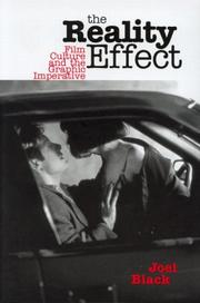 Cover of: The Reality Effect | Joel Black