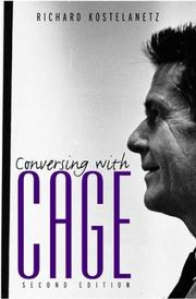 Cover of: Conversing with Cage