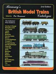 Cover of: Ramsey's British Model Trains Catalogue
