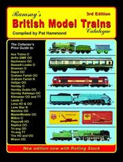 Cover of: British Model Trains Catalogue