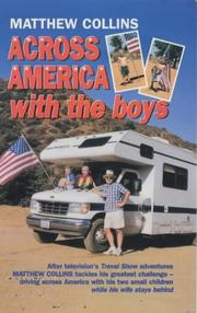 Cover of: Across America with the Boys