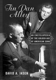 Cover of: Tin Pan Alley