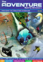 Cover of: The Adventure Sports Directory