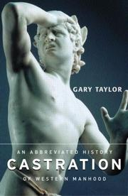 Cover of: Castration | Gary Taylor