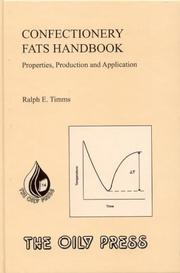 Cover of: Confectionary Fats Handbook | Ralph E. Timms