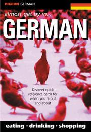 Cover of: Pigeon German