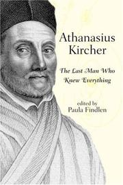 Cover of: Athanasius Kircher |