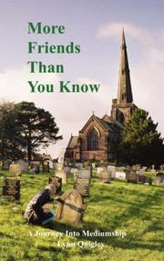 Cover of: More Friends Than You Know | Lynn, Margaret Quigley
