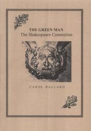 Cover of: The Green Man: the Shakespeare Connection