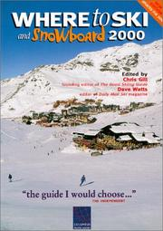 Cover of: Where to ski and snowboard 2000