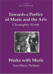 Cover of: Towards a Poetics of Music and the Arts