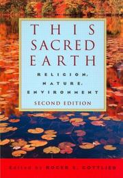 This Sacred Earth by Roger Gottlieb